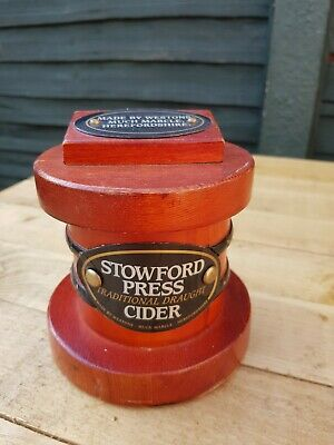 Stowfords Wooden Cider Pump Front