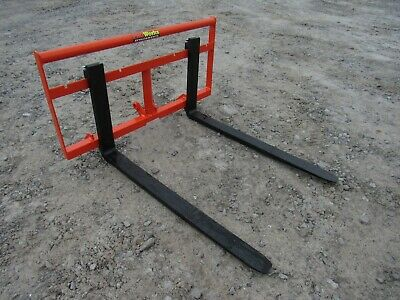 """Kubota BX Sub Compact Tractor 42"""" Pallet Fork Attachment 2,200 Pound - Ship $179"""