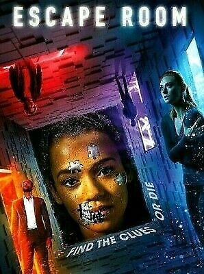 Escape Room (DVD,2019) NEW- Action, Horror, Thriller- SHIPS ON 04/23/19