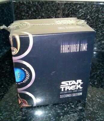 Star Trek CCG's Fractured Time Second Edition Sealed 40 Trading Card Set & More