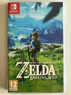 THE LEGEND OF ZELDA BREATH OF THE WILD *Nintendo Switch Game*