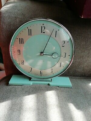 Smiths Art Deco Clock 8 day 1930s