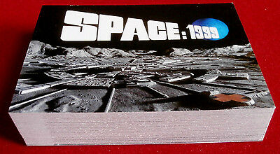 SPACE 1999 - COMPLETE BASE SET OF 54 CARDS - Unstoppable Cards Ltd 2016