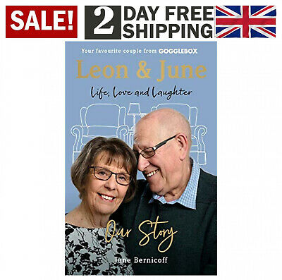 Leon and June Our Story Life Love & Laughter Hardcover Book by June Bernicoff