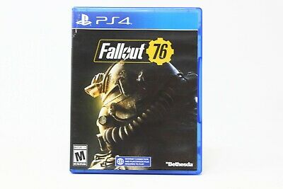 Fallout 76 (Sony Playstation 4, PS4, 2018) Role Playing USED GREAT CONDITION!