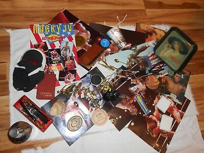Junk Drawer / Grab Box /Grab Bag/Coca-Cola/ Rocky Boxing/Treasures/ Memorabilia