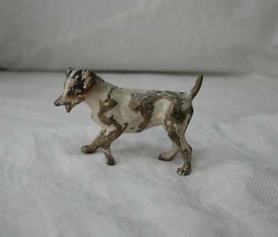 Jack Russell Terrier Austrian Vienna Bronze Dog c1900 Bergmann Antique Dogs