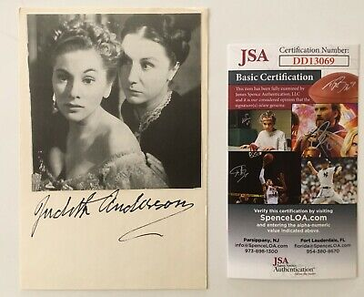 Cards & Papers Autographs-original Ed Harris Signed Autographed 4x6 Card Jsa Certified