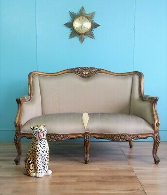 French antique style sofa - project