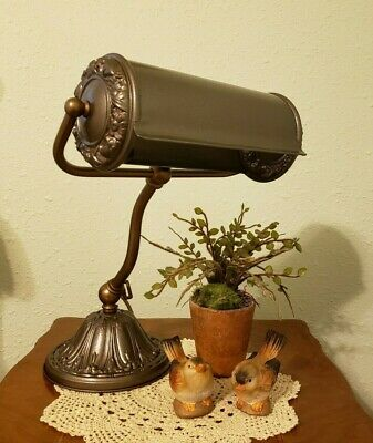 Restored 1920's Vintage Tafco Victorian Style Desk, Table or Piano Lamp