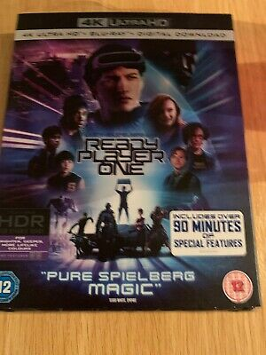 Ready Player One 4K UHD Blu Ray, Blu Ray and Digital With Slipcase - Sealed