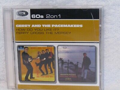 gerry and the pacemakers, emi 2 on 1 cd, rare deleted, new not sealed