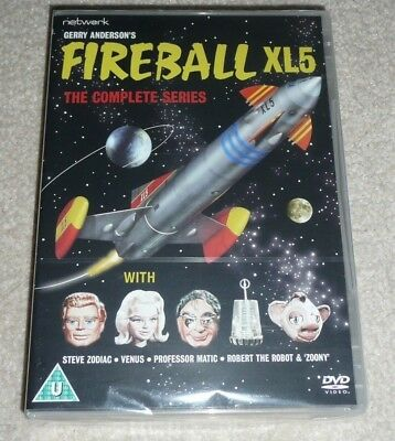 FIREBALL XL5 The Complete Series Gerry Anderson DVD box set (New & Sealed)
