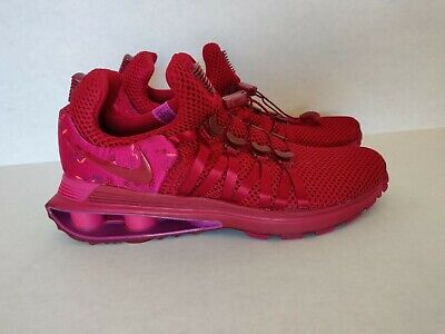 official photos dc373 8e000 Nike Shox Gravity Womens AQ8554-606 Red Crush Wild Cherry Running Shoes  Size 6