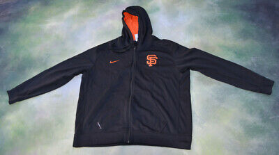 quality design 730b7 406e9 SAN FRANCISCO GIANTS Nike Therma Fit Hoodie Men's Size Large ...