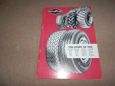 Goodyear The Story of the Tyre Sales Brochure History 1960s