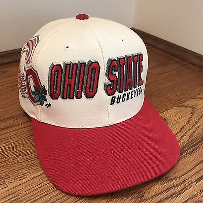 info for 53a57 63eb4 Vintage Ohio State Buckeyes Snapback Hat NCAA Shadow Sports Specialties