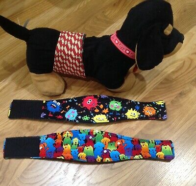 3 pk.Dog Belly Bands, Male Dog Diaper Housebreaking,Training,