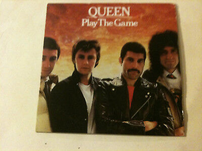 QUEEN 'Play The Game' 2009 EC 2 Track CD Single - Card Cover