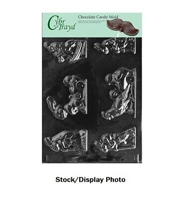 Cybrtrayd Life of the Party E025 Chicken in Egg Lolly Easter Chocolate Candy Mold in Sealed Protective Poly Bag Imprinted with Copyrighted Cybrtrayd Molding Instructions