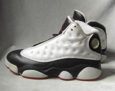 detailing bce6d ef0e3 Air Jordan 13 Shoes Retro Mid White True Red Black Boys 13 C EUC