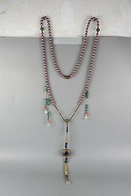 Chinese Exquisite Handmade pearl necklace / Chaozhu