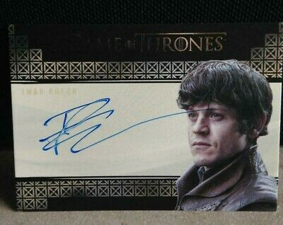 Game of Thrones Valyrian Steel Iwan Rheon Ramsay Bolton VS Autograph CARD AUTO !