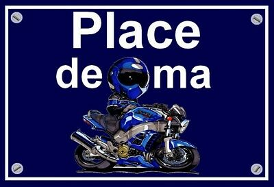 "plaque "" PLACE DE MA HONDA X11   """