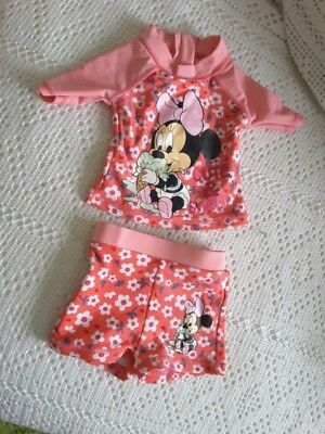 Maillot minnie 6/9 mois