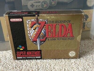 The Legend of Zelda ! **BOX ONLY** Super Nintendo SNES - Boxed - CIB UKV
