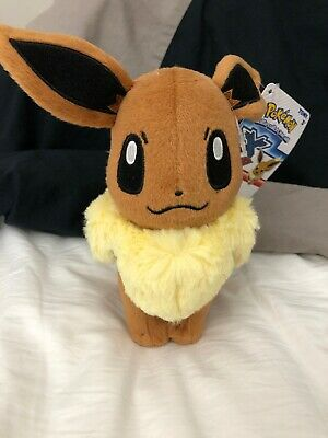 "6"" Pokemon Eevee Pocket Monster Soft Plush Toy Stuffed Doll Authentic US seller"