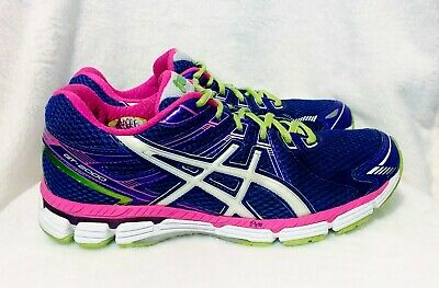 Asics Gel Gt-2000 Womens Running Training Sports Shoes Size 40 Or 8.5 Us