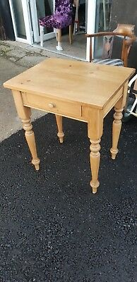 Pine Side Table Delivery Available
