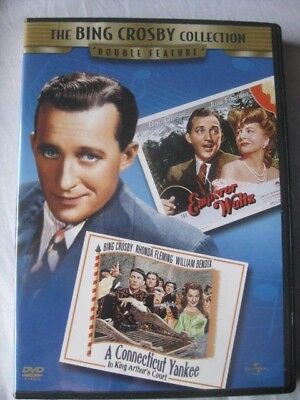 BING CROSBY Collection Double Feature DVD Conneticut Yankee.../Emperor Waltz