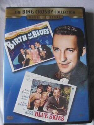 BING CROSBY Collection Double Feature DVD Birth of the Blues / Blue Skies