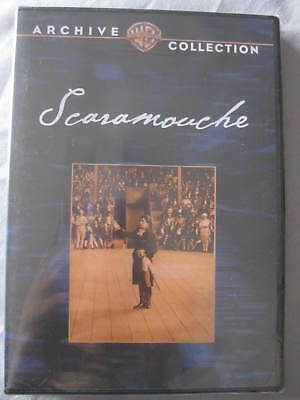 SCARAMOUCHE Archive Collection 1923 DVD  SEALED