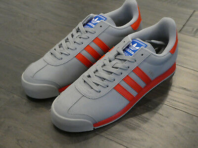 save off b8588 01fd9 Adidas Samoa mens shoes new sneakers BB8586 gray red size 13
