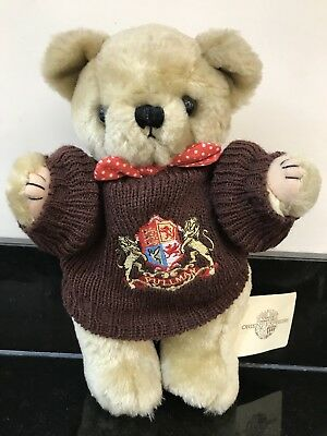 Pullman Orient Express Jointed Teddy Bear Plush Soft Toy Jumper and Original Tag