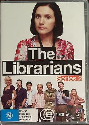 The Librarians : Series 2 (DVD, 2009, 2-Disc Set)  BRAND NEW & SEALED
