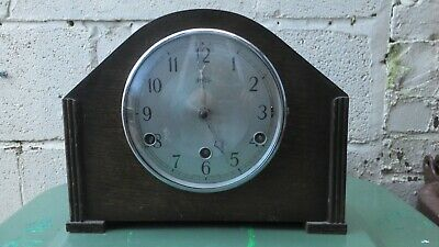 Bentima PERIVALE Westminster Chime mantle Clock GWO