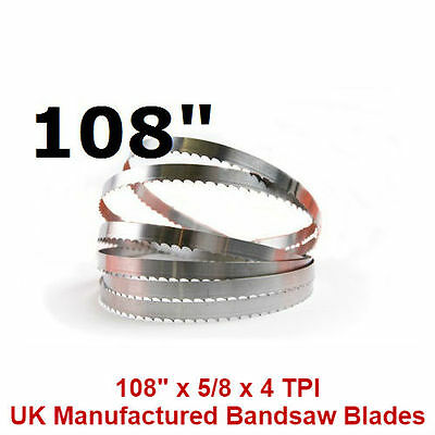 Butchers Meat Bandsaw Blades (10 Pack) - 108""