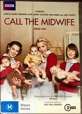 Call The Midwife : Series 2 (DVD, 2013, 3-Disc Set)  BRAND NEW & SEALED