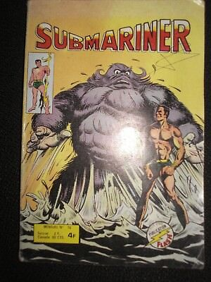 Artima / Arédit FLASH  SUBMARINER  N° 15  COMICS POCKET