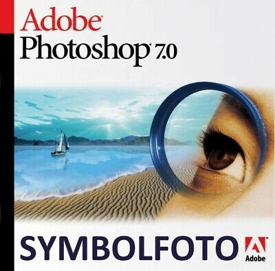 Adobe Photoshop 7 Windows, Vollversion, Deutsch, NEUWERTIG