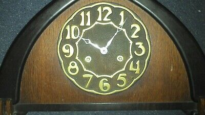 1920's Art Deco Bauhaus style  Clock in nice condition