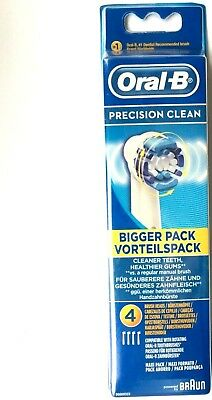 ORAL-B Precision Clean Replacement Brush Heads- 1,2,3,4,8 Pack. USE DROP MENU