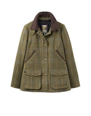 Joules Ladies Tweed Field Coat - Mr Toad - Size 8 and 10