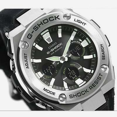 G Shock Men S Gsts330c 1a Cordura G Steel Mid Size Watch Stainless