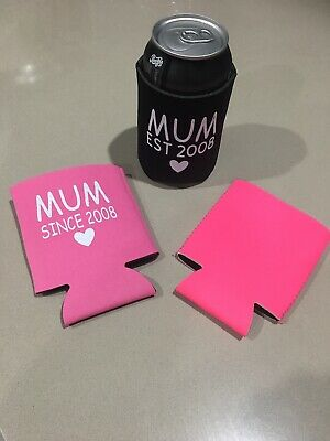 Personalised Can Stubby Holders Mothers Mums Day