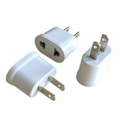 US USA EU EURO Europe Travel Power Plug Adapter Charger Converter USA Converter